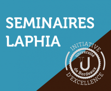LAPHIA Seminar : Joris Lousteau, 14th Jan 2020, IOA, 11AM
