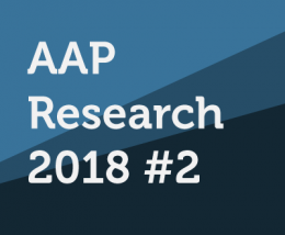 LAUNCH OF THE CALL FOR PROJECTS AAP2018 #2