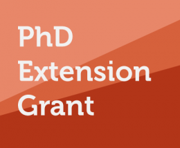 AAP Formation - PhD extension grant